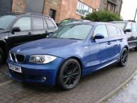FINANCE AVAILABLE!!! 2007 BMW 1 SERIES 2.0 118d M SPORT 5dr, 1 YEAR MOT,