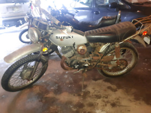 Projects: 1975 Suzuki TC 100 and 1974 Yamaha Dt 125
