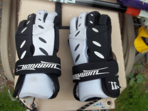 Lacrosse Gloves and Sticks