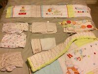 Cotbed humphreys corner bedding set