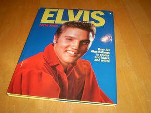 VINTAGE ELVIS PRESLEY HARD COVER BOOK