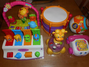 Jouets pour bébé, V-tech, Playskool, Fisher-Price,Little Tikes