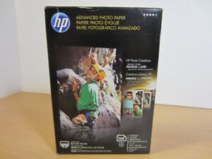 HP Advanced Photo Paper Glossy 4x6, 100 Sheets /SEALED