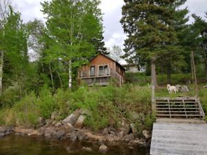 Caliper lake cabin rental  nestor falls
