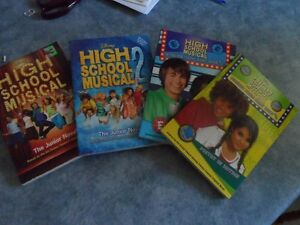 Four (4) High School Musical books