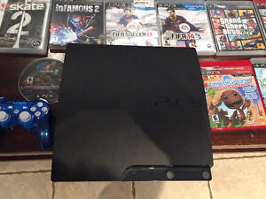 Sony PS3 - 21 games - 3 controllers - Wireless Headset