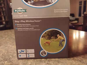 Collier anti-fugue, pet safe stay and play