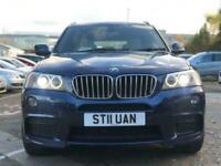 2011 BMW X3 3.0 XDRIVE30D M SPORT 5d 255 BHP Auto Estate Diesel Automatic
