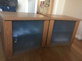 Pair of bedside tables for sale