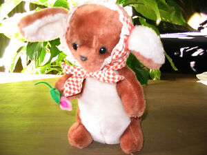 Vintage Collectible Rabbit Stuffed  Toy No 118 by R. Dakin & Co Peterborough Peterborough Area image 2