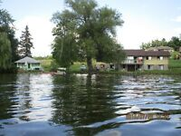 2 Lakefront cottages on 1 1/4 acres-157' lake frontage-Oak Lake