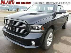 2013 Ram 1500 Sport  Auto,Leather,Touch Screen,Short Box,Sat Rad