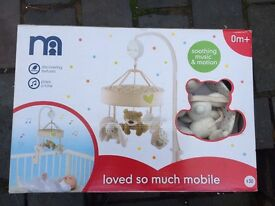 Mothercare Loved So Much Crib/Cot Baby Mobile