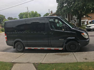 2007 Dodge Sprinter Black Minivan, Van