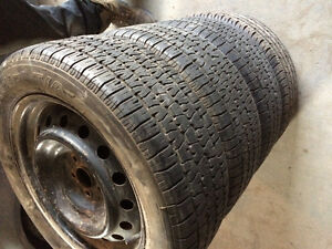 205/55r16 Toyota Corolla all season tires&rims