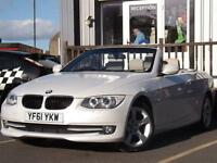 2012 BMW 3 Series 2.0 320d SE 2dr 2 door Convertible