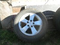 4 pontiac wheels and winter tires