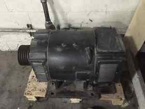 Baldor 60 hp DC motor and Fincor drive