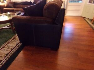 couch and love seat 1year old hardiy used