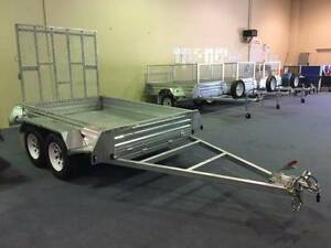 WA Best Value! GALVANIZED TANDEM BRAKED 8x5 RAMP TRAILER O'Connor Fremantle Area Preview