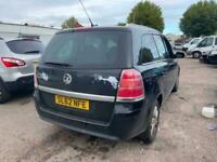 2012 Vauxhall Zafira Design Nav 1.7 CDTi ecoFLEX Diesel ( SPARES OR REPAIR )