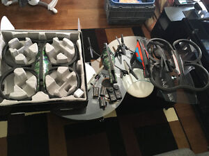 2 Parrot AR.Drone 2.0 all for 200$