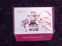 Brand New Sealed 7 inch Android tablet - 4.4.1 KitKat FOR SALE