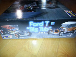 Revell Ford Model T Big Tub 2-in-1
