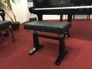 Concert Pneumatic Leather Piano Bench