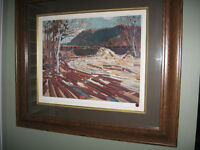 TOM THOMSON LIMITED EDITION PRINT THE DRIVE