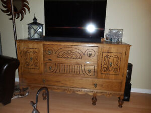 Solid Oak Buffet