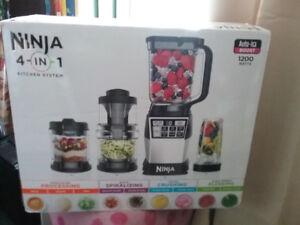 Ninja 4 in 1 Kitchen System with Spiralizer