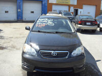 2006 TOYOTA COROLA S FULL LOAD   price reduced now $5499
