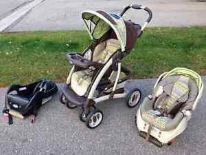 Graco stroller car seat with extra base