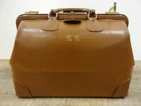 Vintage Leather Doctor's Bag at The Old Attic