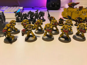 Pro-Painted! Space Marine Army Warhammer 40k