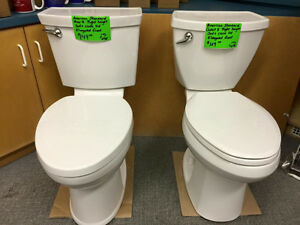 SPECIAL! NEW AMERICAN STANDARD CADET 3 RIGHT HEIGHT TOILETS