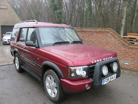 2003 (03) LAND ROVER DISCOVERY 2.5 TD5 S 7 SEATS + BARGAIN 4WD