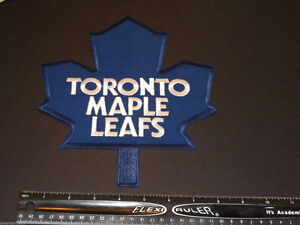 "Toronto Maple Leafs Large 8"" Front Logo embroidery Patch Emblem"