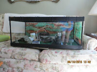 30 gallon Terrarium tank with fixtures, etc