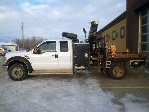 2008 Ford F-550 Picker Truck
