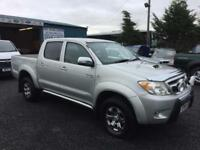 Toyota Hi-Lux 3.0D-4D double cab auto Invincible 2008 58 reg 2 owners from new
