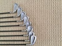 Full set of Hippo irons 3 - PW + Hippo ITX2 driver