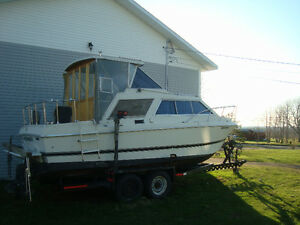 26 ft cabin cruiser