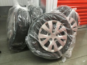 4 all season tires on rims - 2012 Honda Civic