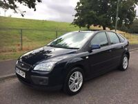 2006 FORD FOCUS 1.6 GHIA, PETROL, MANUAL, 5-DOOR ***BRAND NEW MOT***DRIVES GREAT***75,000 MILES ONLY