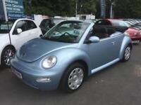 2003 Volkswagen Beetle 1.6 2dr 2 door Convertible