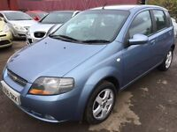 Chevrolet 1.4 petrol automatic HPI clear new mot