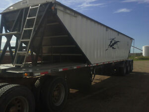 2006 Lode King Triaxle Grain Trailer
