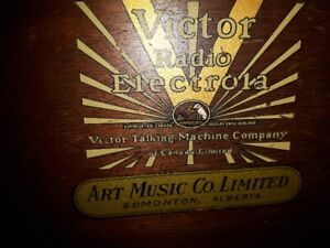 1930's VICTOR RADIO